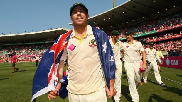 David Warner has been a strong voice for the players in the dispute