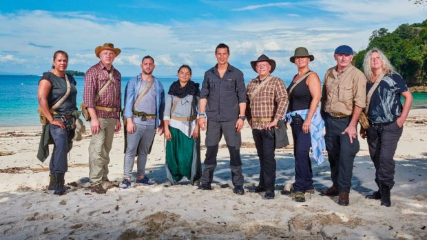The older group in series 4 of The Island.