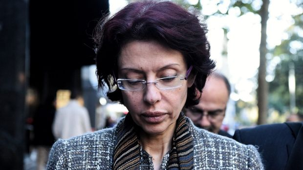Eman Sharobeem leaves the ICAC on Monday.