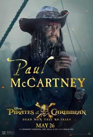Paul McCartney will star in new Pirates of the Caribbean movie.