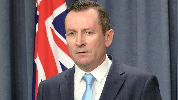 """Premier McGowan said federal treasurer Scott Morrison's claim there was nothing he could do was """"not good enough""""."""