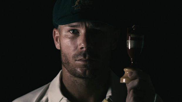 Strike talk: David Warner, with a replica of the Ashes urn, has raised the spectre of industrial action before Australia ...