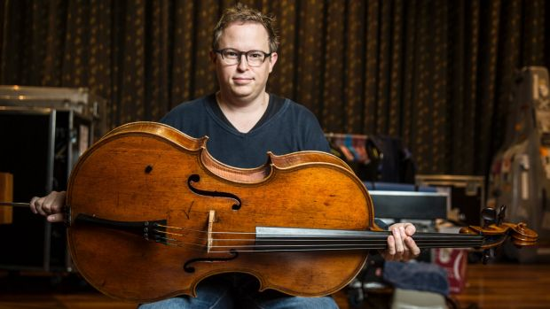 Timo Veikko Valve, Principal Cello of The Australian Chamber Orchestra with the newly acquired 400 year old cello from ...