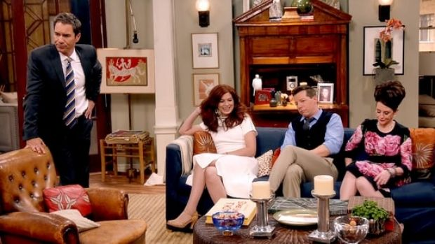 Eric McCormack (Will), Debra Messing (Grace, Sean Hayes (Jack) and Megan Mullally (Karen) are back for the Will & Grace ...