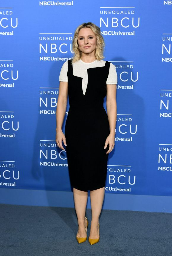 Kristen Bell attends the 2017 NBCUniversal Upfront at Radio City Music Hall on May 15, 2017 in New York City.