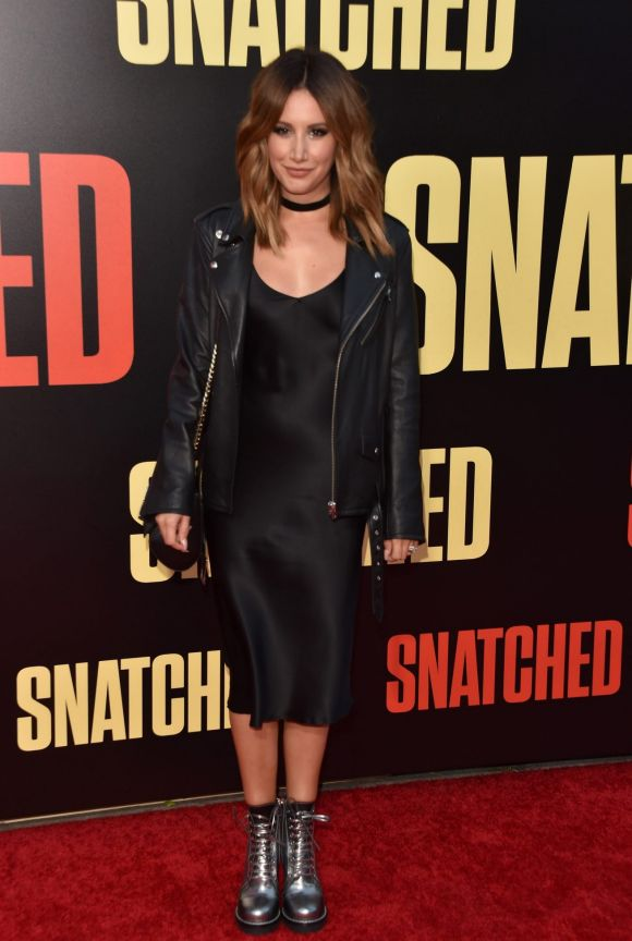 """Ashley Tisdale attends the premiere of 20th Century Fox's """"Snatched"""" at Regency Village Theatre on May 10, 2017 in ..."""