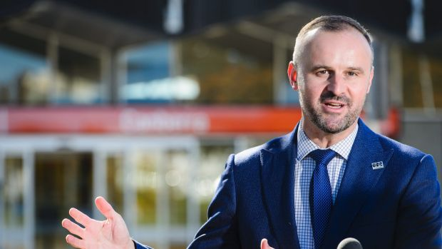"""ACT Chief Minister Andrew Barr, who launches the new club group on Friday, describing the existing group as a """"joke""""."""