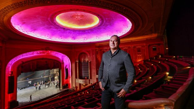 Live Nation Australiasia CEO Michael Coppel inside the Palais Theatre. His company will spend $6 million restoring the ...