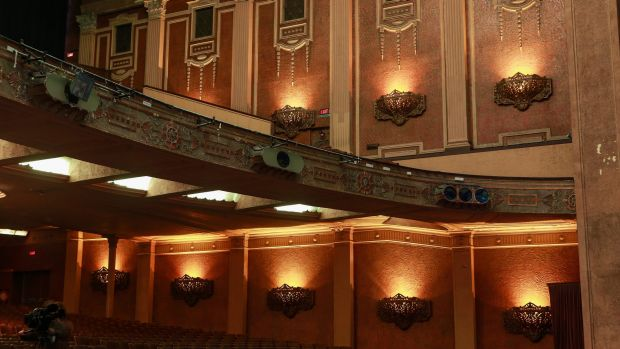 The interior of the The Palais Theatre will undergo further renovations.