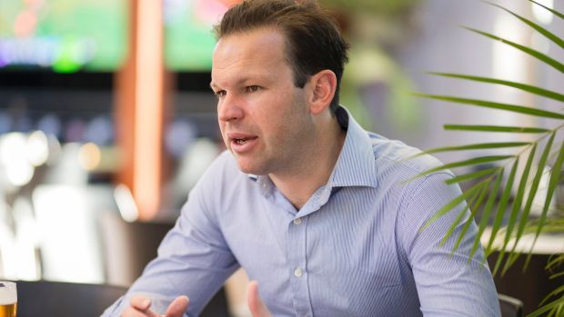 Former resources and northern Australia minister Matt Canavan.