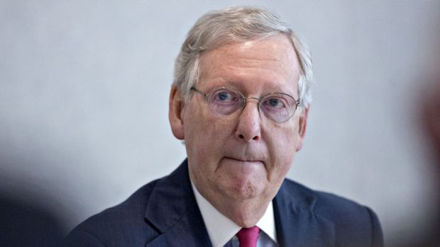 Republican Senate Leader Mitch McConnell said there was an urgent need for Congress to hear from Donald Trump.