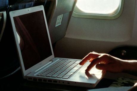 The federal government is talking about banning laptops on international flights.