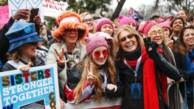 'Feminism' is Merriam-Webster's word of the year, thanks to marches, #MeToo and Kellyanne Conway