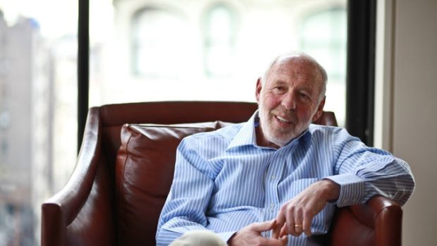 James Simons was Wall Street's best-paid hedge fund manager in 2016.