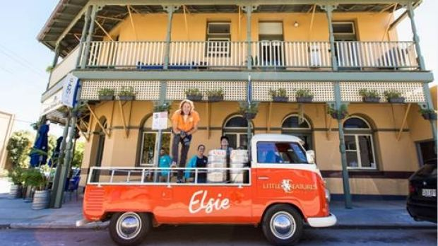 Elsie the kombi now has her own Little Creatures beer made just for WA.