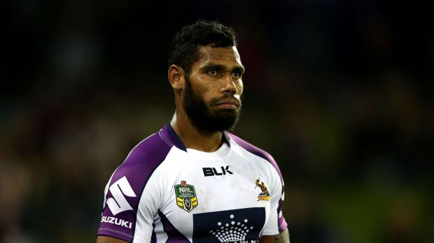 Sisa Waqa during his first stint with Melbourne Storm