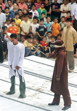 Aceh is the only one of Indonesia's 34 provinces where sharia-inspired punishments are on the statute book. This man is ...