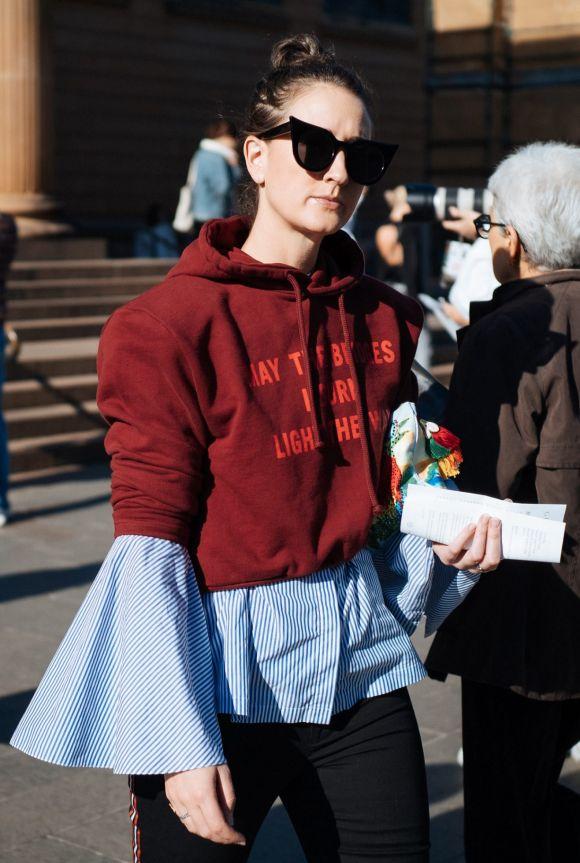 Sydney Morning Herald fashion editor Jenna Clarke nailing. it.