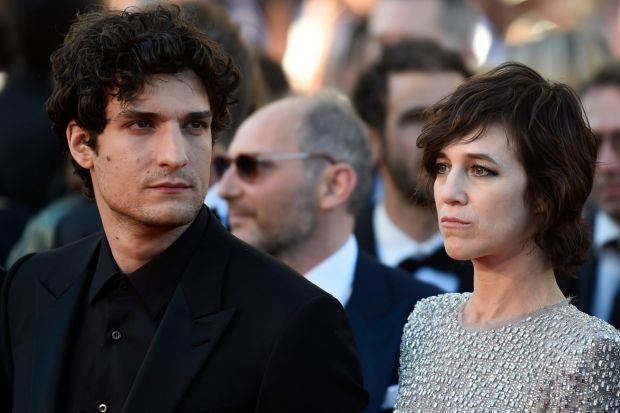 Louis Garrel and Charlotte Gainsbourg attend the Ismael's Ghosts (Les Fantomes d'Ismael) screening and Opening Gala ...