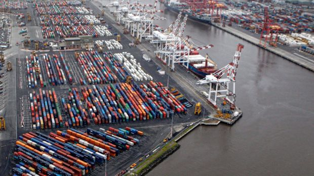 Bay West would begin to take over once traffic at the Port of Melbourne reached about 8 million shipping containers a year.