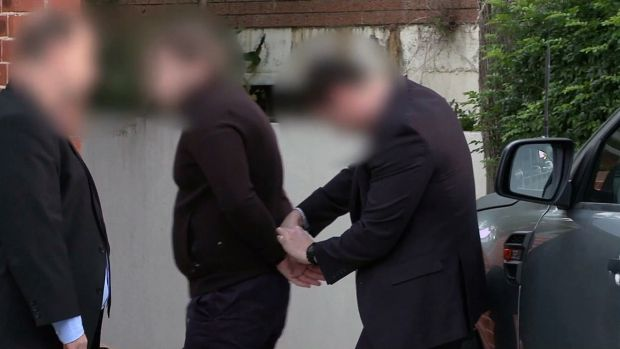One of nine people being arrested over a $165 million tax fraud investigation.