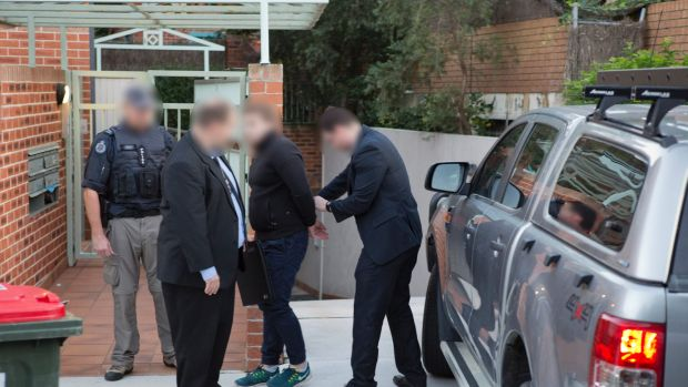 Adam Cranston, 30, was arrested outside his Bondi home on Wednesday.