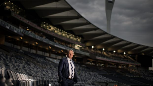 Geelong Cats CEO Brian Cook talks to The Age about the club's off field success, with the ground redevelopment and ...