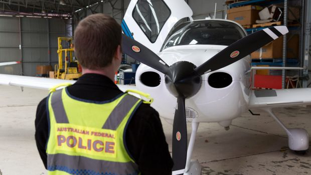 Police seized two aeroplanes as suspected proceeds of crime.