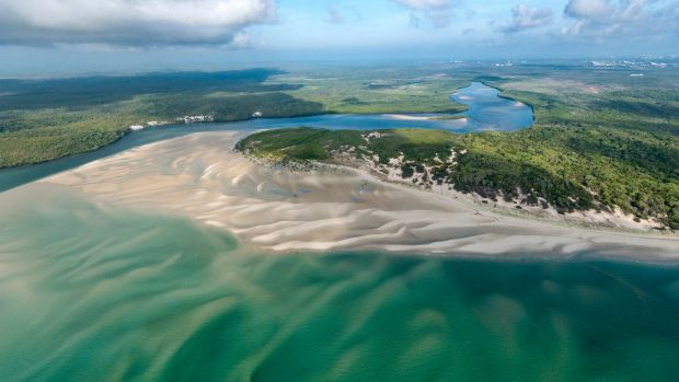 The Olive River, and 165,000 hectares of land on the Cape York Peninsula, have been handed back to the Wuthathi, ...