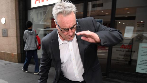 ATO deputy commissioner Michael Cranston, pictured outside court last month, allegedly attempted to access information ...