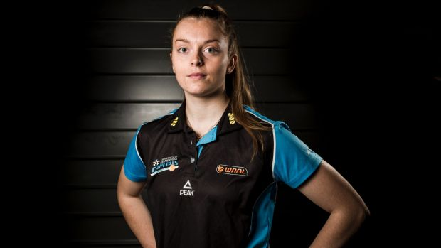 Canberra Capitals show faith and re-sign Abbey Wehrung for 2017-18 season after a horrific ankle injury.