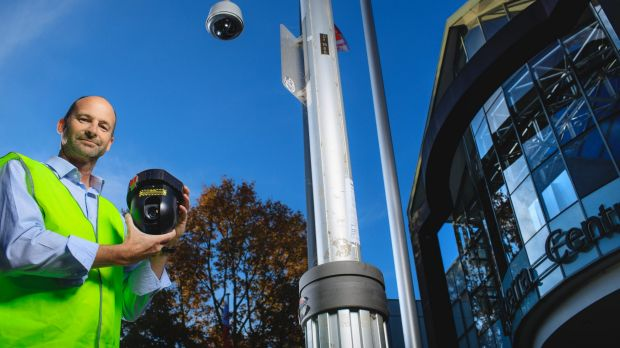 The ACT government is considering trialling using the CBR Free Wi-Fi network to deploy CCTV cameras. Justice and ...