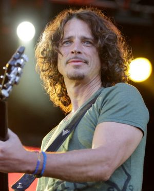 Chris Cornell on stage at the Soundwave music festival in Melbourne Showgrounds in 2015.