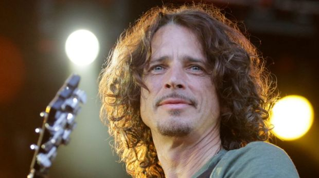Chris Cornell on stage at the Soundwave music festival in Melbourne in 2015.