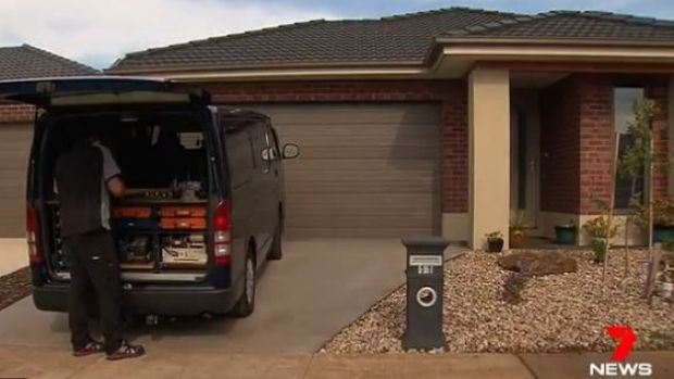 The victims of Melbourne's latest home invasion had the locks on their doors changed.