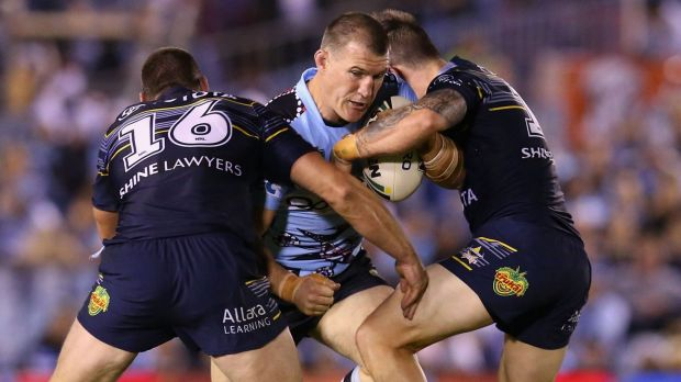 Second thoughts: Cronulla captain Paul Gallen believes his on-field performances would warrant another Origin call-up, ...