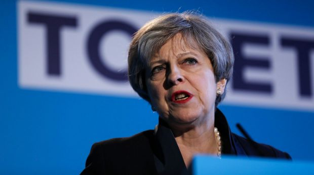 Prime Minister Theresa May pledged to bring down the UK's net migration levels.