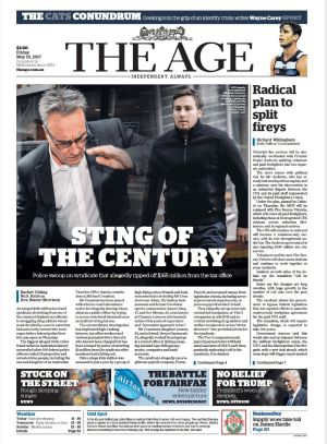 The Age, May 19 2017.