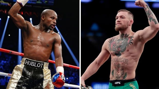 Edging closer to reality: A Floyd Mayweather Jr and Conor McGregor fight remains possible.