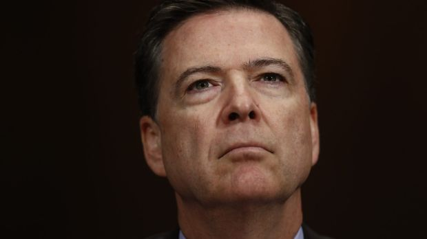 Fired FBI director James Comey.
