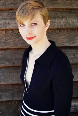 A portrait of Chelsea Manning that she posted on her Instagram account on Thursday, May 18, 2017.