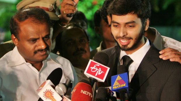 Mohamed Haneef, right, addresses media in India in 2007 after he was released from being wrongly charged and detained in ...