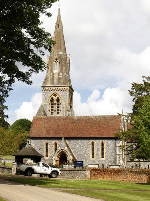 St Mark's Church in Berkshire, near where the Middleton sisters grew up, will play host to Pippa's wedding on Saturday.
