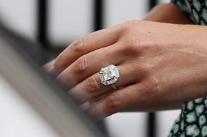 Pippa Middleton's engagement ring.