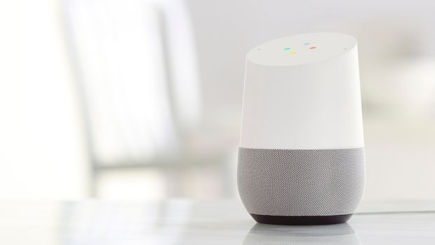 The talkative Google Home smart benchtop speaker is vying for a place in Australian homes.