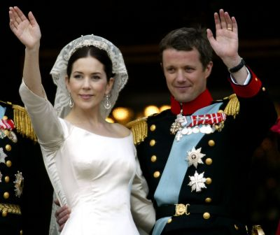 Crown Princess Mary and Crown Prince Frederik of Denmark, 2004.