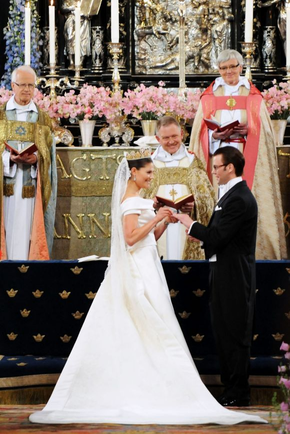 Crown Princess Victoria of Sweden and Prince Daniel, 2010.