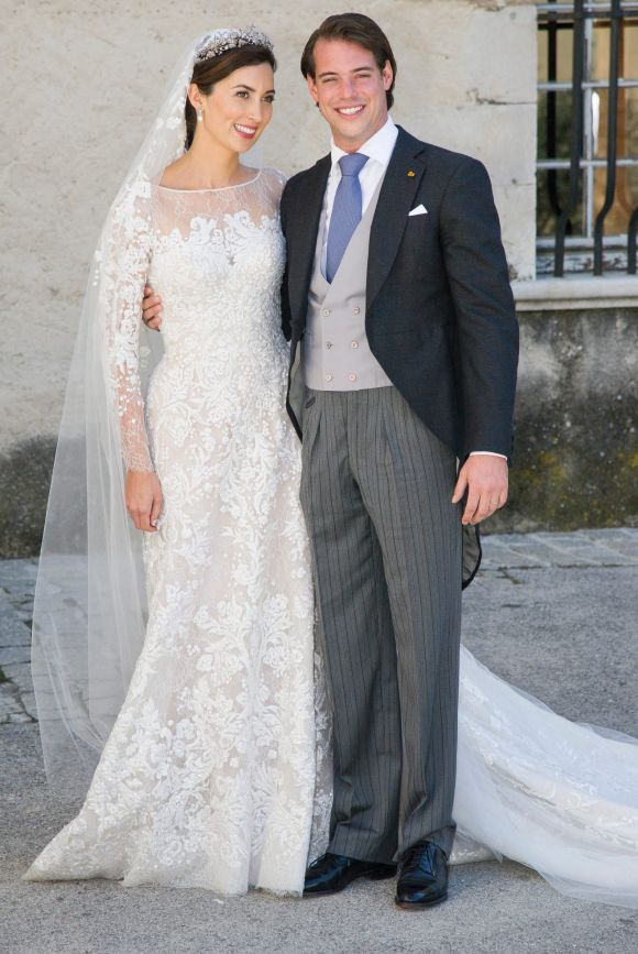 Princess Claire Of Luxembourg and Prince Felix Of Luxembourg, 2013.