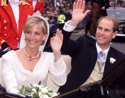 Prince Edward and Sophie Rhys-Jones, 1999.