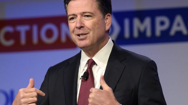 James Comey was fired as director of the FBI by Trump.